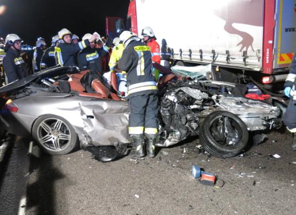 Der Unfallwagen von Dado Duzzi
