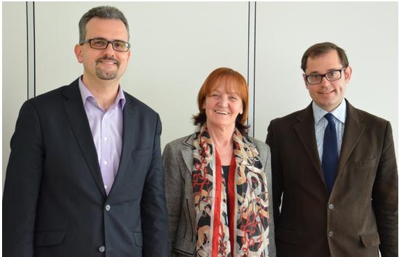 Michael Mayr, Martha Stocker und Thomas Mathá