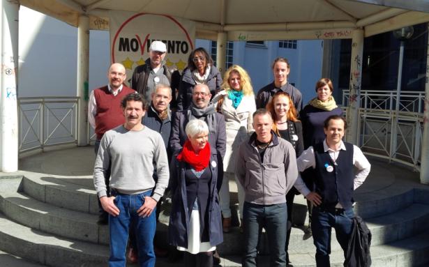 Die KandidatInnen der 5-Sterne-Bewegung für die Wahlen in Bozen