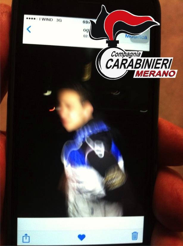 Das Handy-Foto des Täters