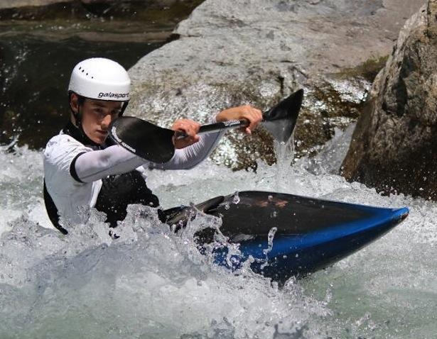 Jakob Weger in Aktion
