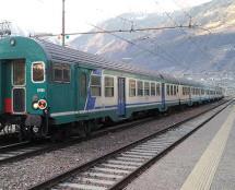 Bahnhof Meran steht still
