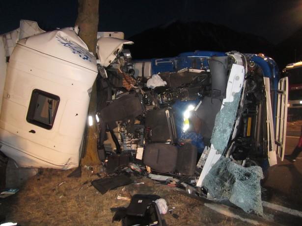 Der Unfall in Burgeis (Foto: Berufsfeuerwehr Bozen)