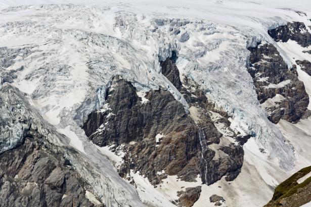 Gletscherdetail im Bereich Großglockner (Foto: ÖAV/Freudenthaler)