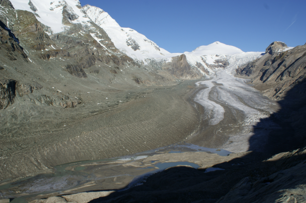 Die Gletscherzunge der Pasterze 2010 (Foto: ÖAV/Lieb)