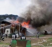 Großbrand in Mauls