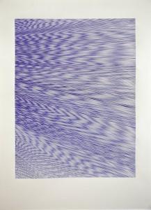 Maureen Kägi: O.T. Kugelschreiber auf Papier