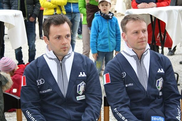 Patrick Gruber und Christian Oberstolz