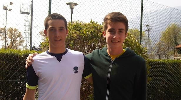 Giacomo Poletti und Benjamin Rossi