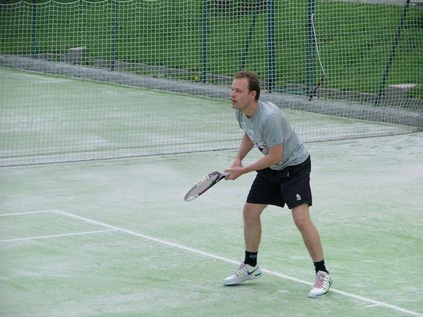 Markus Thaler in Aktion