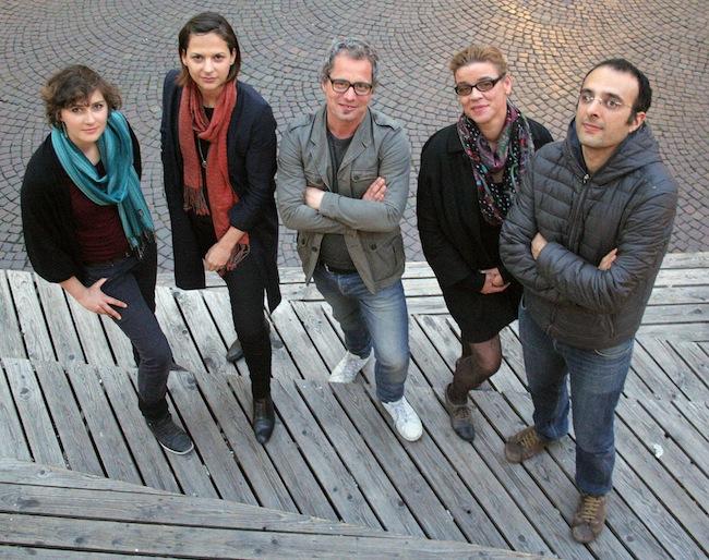 Der neue FAS Vorstand: v.l.n.r. Irene Reiserer, Nela Märki, Georg Zeller, Maja Wieser Benedetti, Emanuele Vernillo (Foto: Mike Ramsauer/FAS)