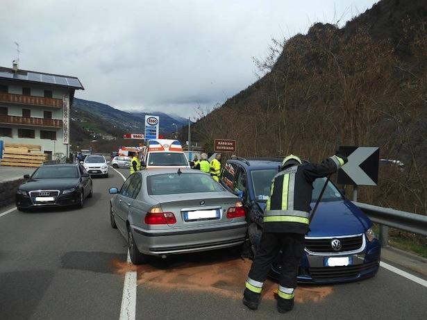Unfall in Kollmann (Foto: FF Waidbruck)