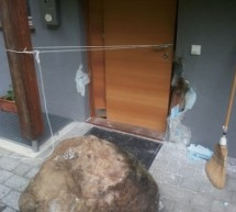 Steinschlag in Mauls