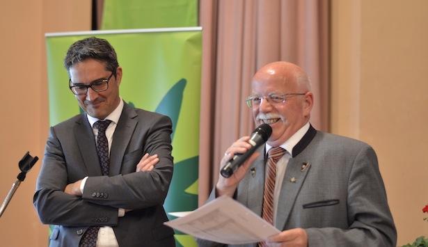 LH Arno Kompatscher und AVS-Chef Georg Simeoni (Fotos: Daum)