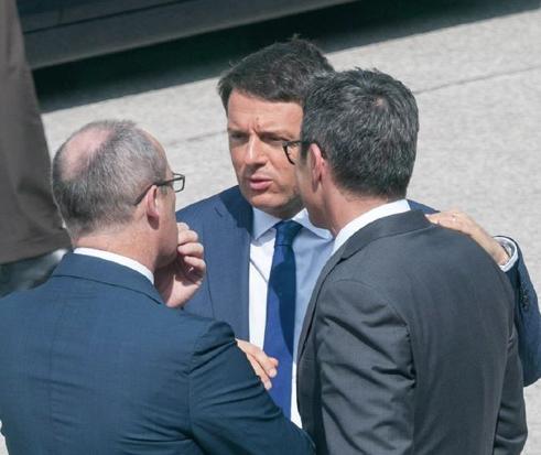 Renzi mit den Landeshauptleuten (Foto: Lpa)