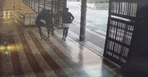 Die Bilder der Videoüberwachungsanlage im Parkhaus