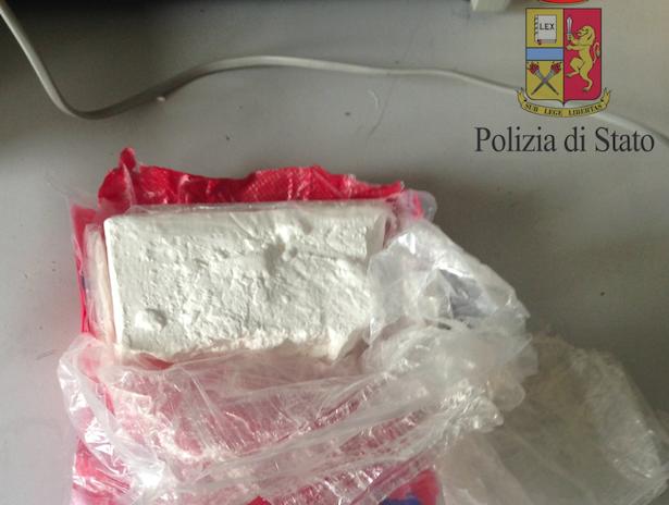 Das beschlagnahmte Kokain