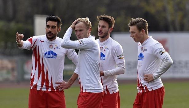Alessandro Campo, Michael Cia, Luca Bertoni und Manuel Fischnaller (Foto: Max Pattis)