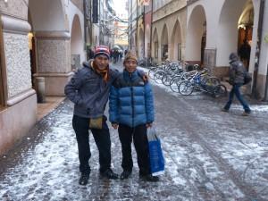 Chhapten  Sherpa und Chhogel Sherpa: Praktikum in Südtirol
