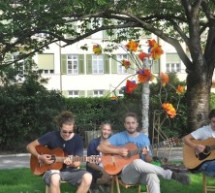Streetmusic for refugees