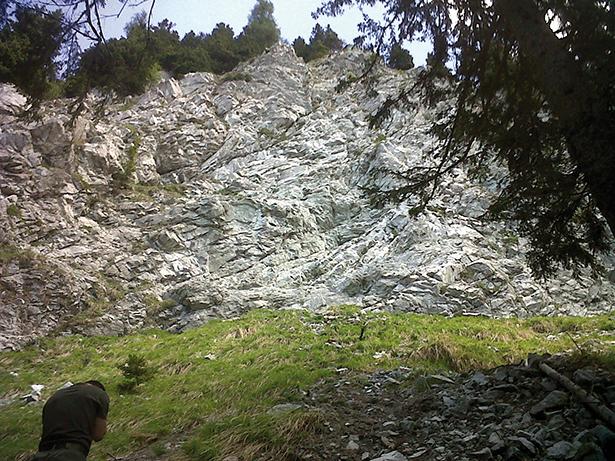 Die Unfallstelle (Foto: Bergrettungsdienst)