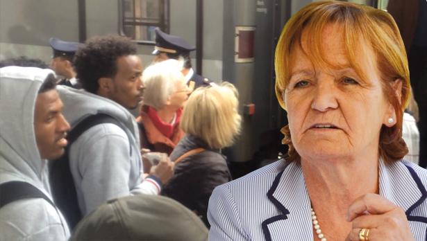 Flüchtlinge Stocker Martha