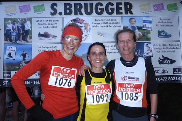 Irmgard Huber, Johanna von Dellemann und Ulrike Raich