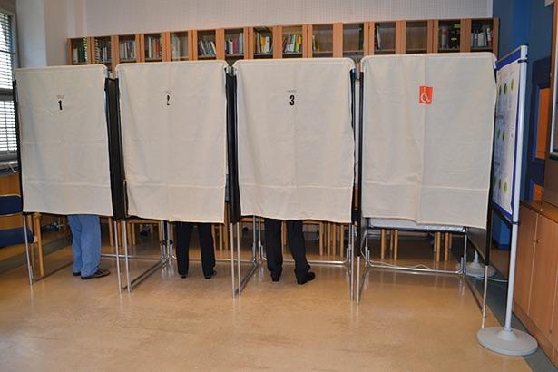 Wählen 2015 gemeinde