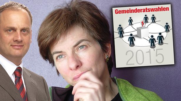 Werner Tschurtschenthaler und Rosmarie Burger