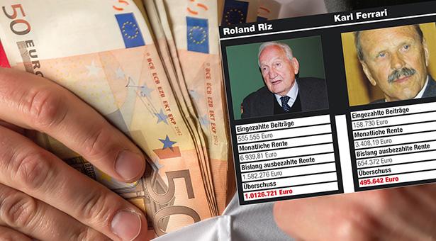 Businessman putting money in pocket
