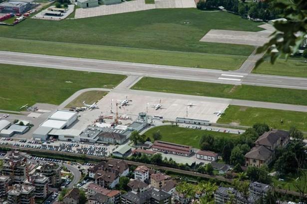 Der Flughafen Bozen