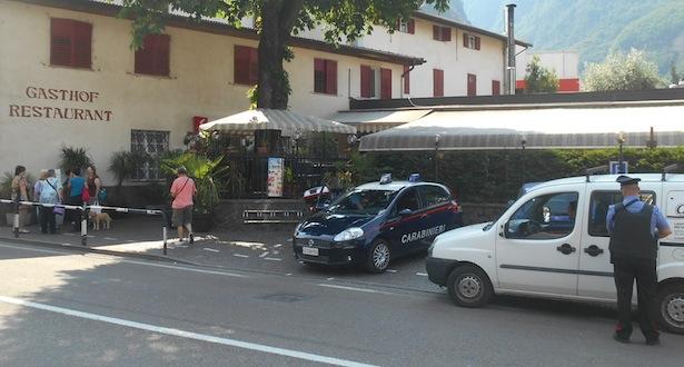 Der Tatort in Leifers (Foto: Carabinieri)
