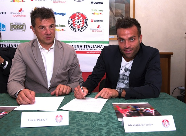 Luca Piazzi mit Alesssandro Furlan