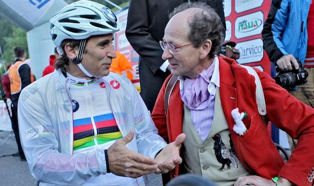 Alex Zanardi und Michil Costa (Foto: Daniel Töchterle)