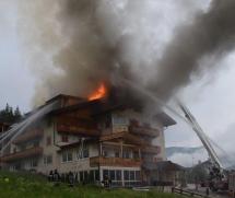 Hotelbrand in St. Vigil