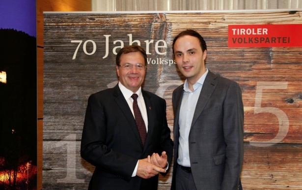 Günther Platter und Philipp Achammer