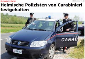 """Der Bericht in der Online-Ausgabe der """"Kronen""""-Zeitung"""