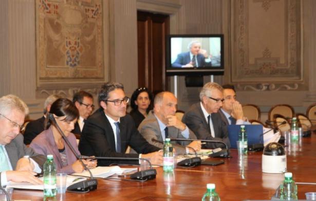 LH Arno Kompatscher am Donnerstag in Rom