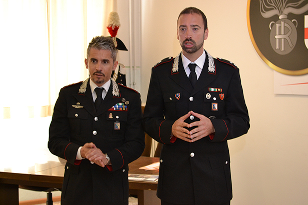Die Ermittler Massimo Rosati und Christian Spagnuolo