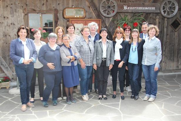 Vertreterinnen der Südtiroler Bäuerinnenorganisation, Donne in Campo, Confagricolutra Donna, Coldiretti Donne Impresa