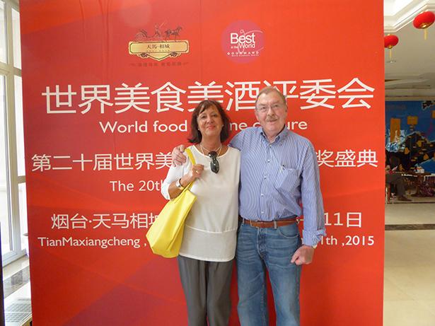 Franz und Cornelia Haller in Chinas Wein-Hauptstadt  Yantai: 60 Gerichte aus der Handschrift ihres Vorfahren Joseph Anton Haller