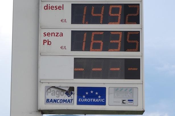Tankstelle in Südtirol