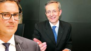 Toni Ebner und LH Arno Kompatscher