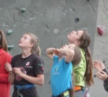 Die jungen Kletterer