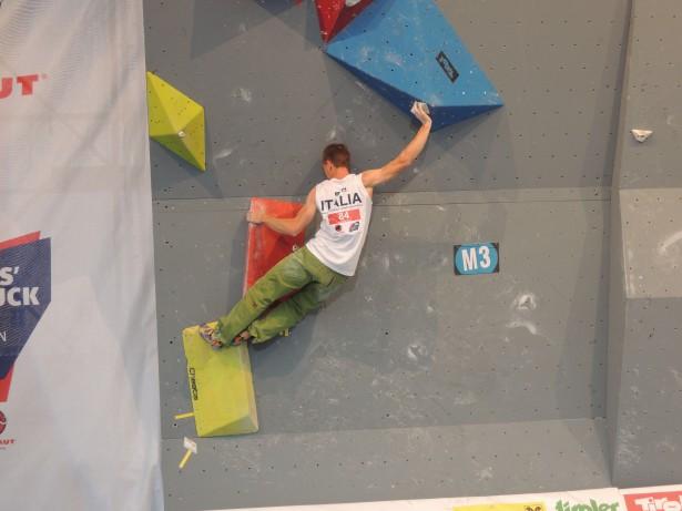 Stefan Scarperi im Weltcup