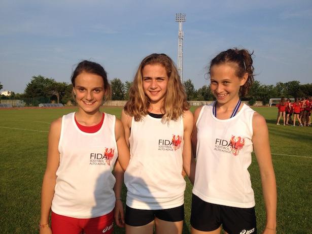 Sarah Fischnaller, Maddalena Melle, Valeria Puglisi