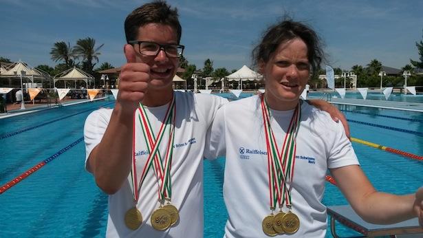 Kathrin Oberhauser und Marco Scardoni