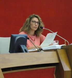 Regionalratspräsidentin Chiara Avanzo