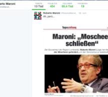 Maroni twittert