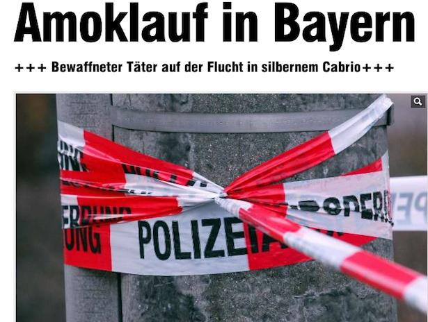 Die Schlagzeile von Bild.online